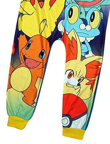 c732e45560 Pokemon - Pigiama interi - ragazzo Blue 4-5 Anni