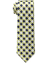 Tommy Hilfiger Men's Textured Grid Tie