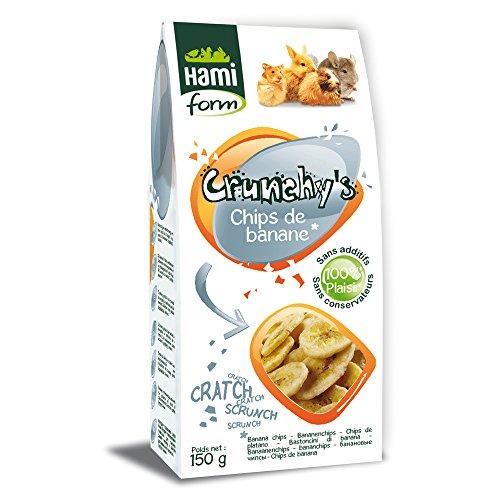 Friandises pour Rongeur, Chips de banane, 150g -...
