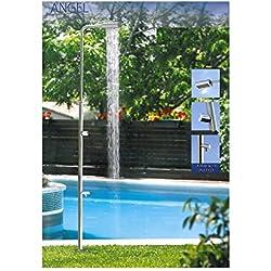52718 Ducha Angel mono comando a un cabezal de ducha para piscinas, con lava-pies.