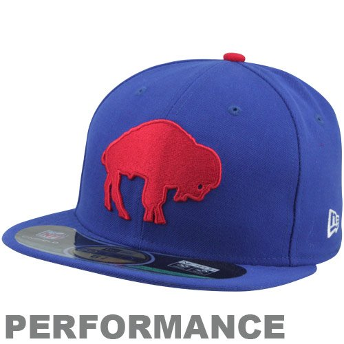 - Team Farbe Ausgestattet Hut (New Era NFL BUFFALO BILLS Authentic On Field 59FIFTY Classic Game Cap, Größe:7 1/4)