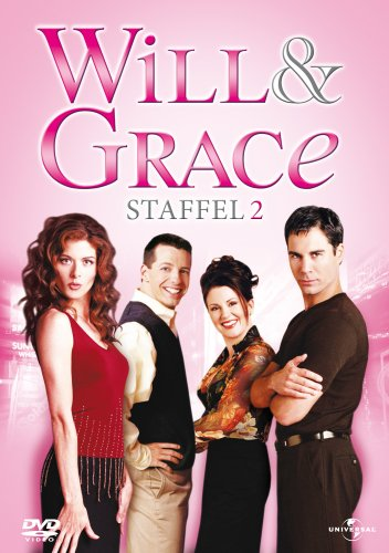 Will & Grace - Staffel 2 (4 DVDs)