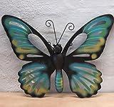 Arte de la pared decoración de pared de Metal escultura - - mariposa para el jardín o en la casa