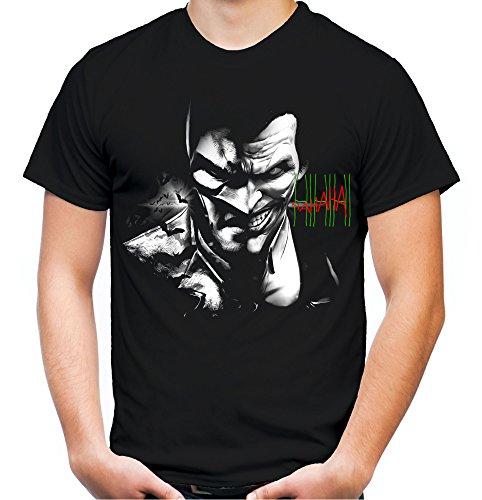Evil Batman Joker Männer und Herren T-Shirt | -