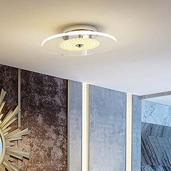 pakfung led deckenleuchte stilvolle lampe dimmbar helligkeit farbe einstellbar warmwei. Black Bedroom Furniture Sets. Home Design Ideas