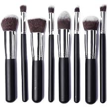 8 Pincel Brocha Maquillaje conjunto de cepillos Brocha Sombra Blush Corrector Fundación Maquillaje pinceles cosméticos Profesional Kit de Maquillaje para Maquillar Cosmético MT078