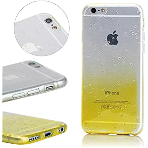 momdad Cover per iPhone 6 6S Custodia iPhone 6 6S Case iPhone 6 6S Custodia iPhone 6 6S Silicone Cover iPhone 6 6S 4,7 pollici Cover Bling Strass Trasparente Morbida Case Cover di protezione TPU Gel Cover Custodia Bling chiaro Crystal Silicone Shell Custodia Ultra Sottile Case Cover Premium Flex Soft Skin