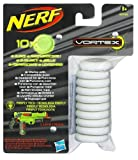 Hasbro 39756148 - Nerf Vortex Glow in the Dark Disc Nachfüllpack