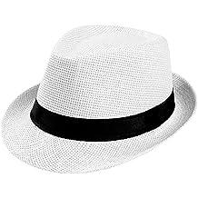 Amazon.es  sombrero paja - Negro 6762a12baa4