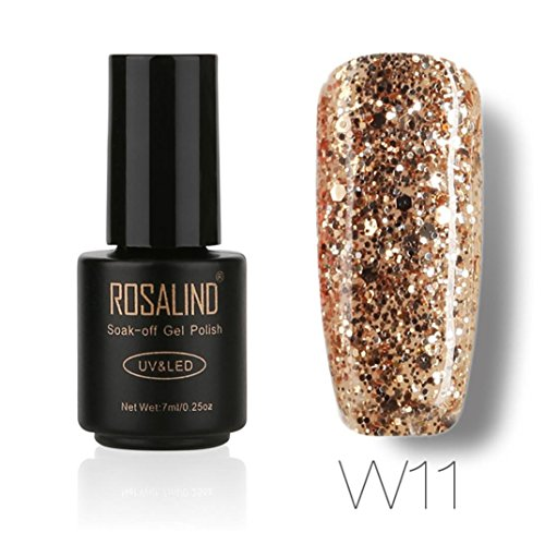 Shage ROSALIND 7 ML Gel Nagellack Nail art Gelpoliermittel UV LED Gelpoliermittel Semi Permanent Lack (A)