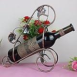 Amadoierly Wein Eisen Bronze Rahmen Bold Ahorn Mode Home Wohnzimmer Küche
