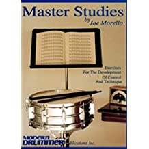 Master Studies Exercises For Development Of Control And Technique Dru
