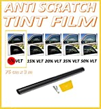 Best Window Tints - ANTI-SCRATCH CAR VAN WINDOW TINT FILM SUPER DARK Review