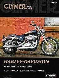 Clymer Harley-Davidson XL Sportster 2004-2009 (Clymer Color Wiring Diagrams)