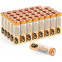 tenty.co.uk AA Batteries |Pack of 40|GP Batteries|Superb operating time| 1.5V - Mignon - LR06 - MN1500 - 15A - AM3