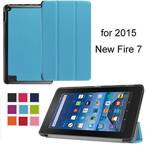 NEWSTYLE PU-082 Tablet-Schutzhülle, Kindle Fire, blau, Stück: - Fall Kindle-version 2