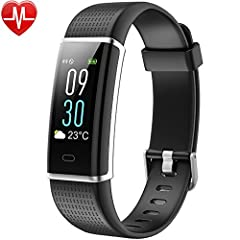Idea Regalo - Fitness Tracker, Willful Orologio fitness Braccialetto Schermo a Colori Watch Bracciale Cardiofrequenzimetro da Polso Smartwatch Pedometro Impermeabile IP68 Donna Uomo Bambini Bluetooth HR Sport per Samsung Huawei iPhone Android iOS Smartphone (Activity Tracker, Contapassi, Calorie, Distanza, Cardio, 14 Modalità Sport, Notifiche Messaggio, Controllo Remoto Fotocamera, Allarme)