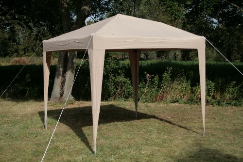 This gazebo comes with four walls. Two of the walls are 'church style' and the other two walls have zippers you can tweak to create openings. The two window panels featured let in light into the gazebo so that even when it is cloudy, you can still see your environment clearly.