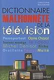 Dictionnaire malhonnête de la télévision