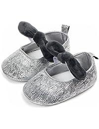 c49082fa33554 BZLine Bébé Chaussures antidérapantes Enfant Chaussures Sandales Chaussures  Princesse Couleur vive supérieure ...
