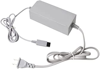 Imported US Plug Wall Power Supply Cord Adapter Charger for Nintendo Wii RVL002-Grey