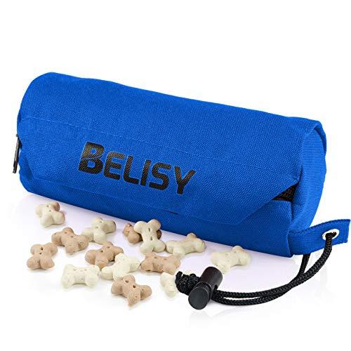 BELISY Futterdummy für das Hunde Training I Leckerlie Tasche zum Apportieren