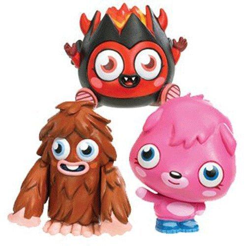 Moshi Monsters Diavlo Furi und Poppet beweglich Figuren Preisvergleich