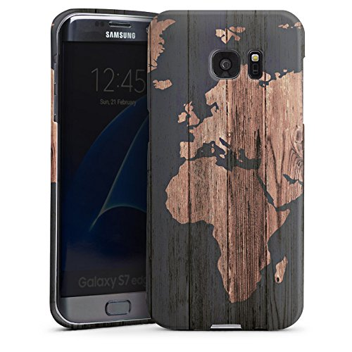 samsung-galaxy-s7-edge-shell-case-protective-cover-world-map-wood-earth