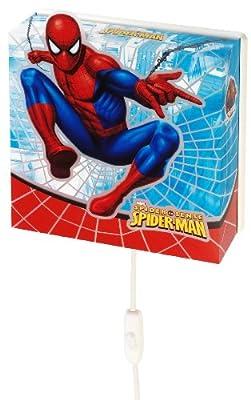 Dalber 75608 Wandlampe Spiderman Kinderzimmer Lampe Leuchte von Dalber S.L. auf Lampenhans.de