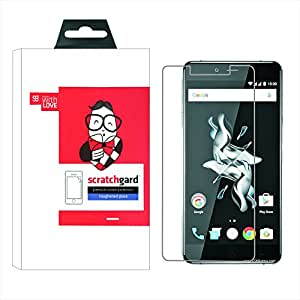 Scratchgard Tempered Glass Clear Protector Screen Guard for OnePlus X
