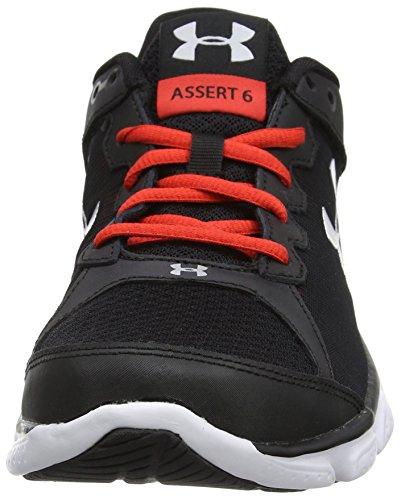 G Hombre Afirmar Para Negro Eran Micro De Armadura Zapatos Debajo Ua 42 6 004 La negro Correr Carreras qzPHIxwR