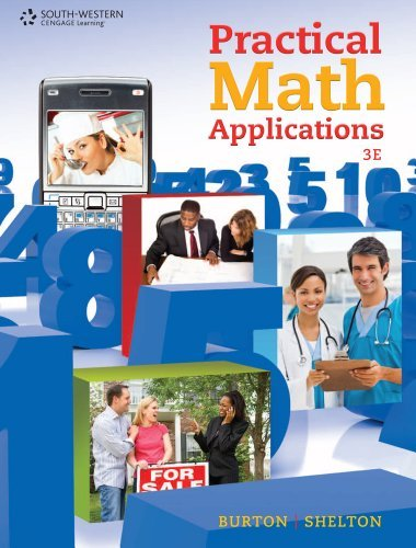 Bundle: Practical Math Applications, 3rd + CengageNOW Printed Access Card by Sharon Burton (2010-11-10)