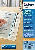 Avery Zweckform 1810061 Ordner Register in DIN A4