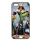 Fortnite 3 cover iPhone 5 5S Copertura di caso della cassa cover nera della copertura del telefono cellulare EOKXLLNCD09493