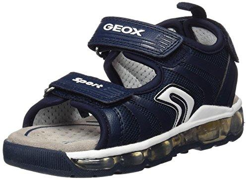 Geox Jungen J Sandal Android Boy B, Blau (Navy/WHITEC4211), 33 EU
