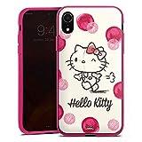 DeinDesign Silikon Hülle Case Schutzhülle für Apple iPhone Xr Hello Kitty Fanartikel Merchandise Fan Article Merchandise