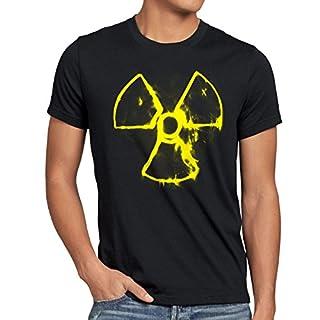 A.N.T. Nuclear Smoke T-Shirt Herren Nein Danke akw Atomkraft, Größe:L
