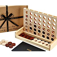 Jaques of London Classic Score 4 Have Wonderful Family Fun with a Score 4 game- Handmade Wooden Games Since 1795