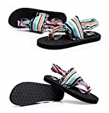 XIAOGEGE Damen Sommer Schuhe, EU36, tarnfarben,