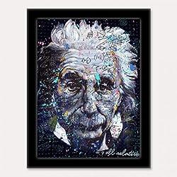 3D Art Einstein 3D Framed Art, 10.5 by 13.5