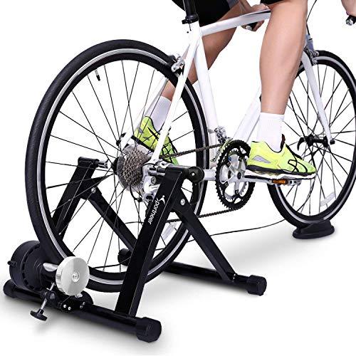 Sportneer Support d'entrainement pour vélo - Support magnétique pour Entrainement de vélo en...