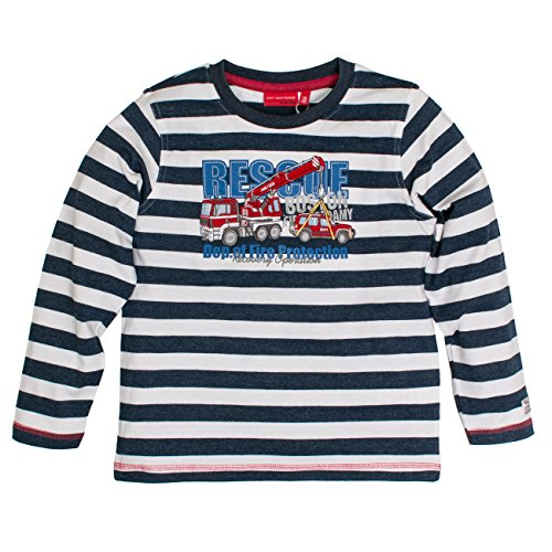 SALT AND PEPPER Jungen Langarmshirt Longsleeve Rescue Stripe
