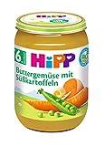 Produkt-Bild: Hipp Buttergemüse mit Süßkartoffeln, 1er Pack (1 x 190g)