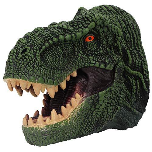 iches Tier Gummi realistische Dinosaurier Interaktive Rollenspiele Spielzeug für Kinder und Erwachsene (Grün) ()