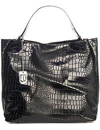 Lucca Baldi WBL180330-BLACK (10) - noir - 324EUR - Handbag - Handcrafted in Italy