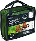 Gardman Protective Tête à Tête Bench with Table Cover-Green 34415