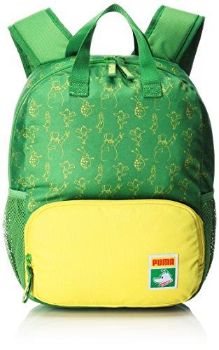Puma Kinder Backpack Rucksack, online Lime-Blazing Yellow-Tabaluga AOP, 36 x 32 x 4 cm (Kinder Puma Rucksack)
