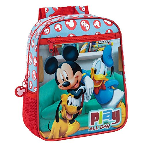 Imagen de disney pack  mickey play de 28 cm + peluche en forma de bola mickey. alternativa