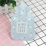 Jadebin Cute Child Winter Cartoon Mini Cute Hot Water Bottle Water Bag Hot Hand Treasure - Blue Seagull