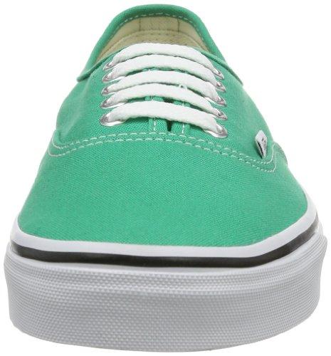Vans U Authentic - Baskets Mode Mixte Adulte Vert (Verdant Green/True White)